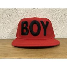 CAPPELLO BOY LONDON UNISEX CON VISIERA ROSSO 727944e0480d