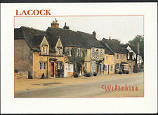 Wiltshire Postcard - High Street, Lacock     LC6343
