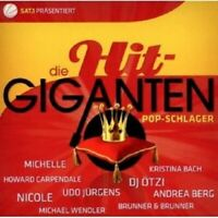 DIE HIT GIGANTEN POP SCHLAGER 2 CD ANDREA BERG UVM NEU