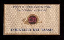 ITALY 1993 MINT NH BOOKLET # 1955ab, THURN & TAXIS POSTAL HISTORY !!  E40
