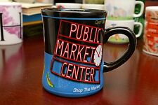 Two Rare Seattle Pike Place Public Market Center Fish Catch Big Coffee Mug Cup