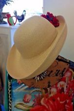 BETMAR Street Smart Squishee Natural Beige Up Wide Brim Sun Hat One Size New
