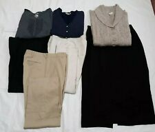 Lot of womans plus size clothing, tops 3x, pants 16