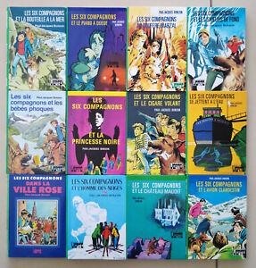 Lot de 12 Livres Les Six Compagnons de Paul-Jacques Bonzon