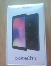 Tablet Alcatel 3T 8, Used, needs to have an account and sim card to operate, Blk