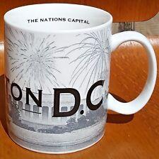 Vintage 2002 Starbucks Coffee Mug Skyline Series WASHINGTON DC 16 Fl Oz Cup