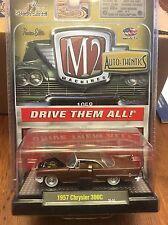 M2 Machines Auto-Thentics  1957 Chrysler 300C  brown