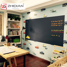 """Magnetic Chalkboard Wall Sticker Roll with Self-adhesive Back Wallpaper-72""""x48"""""""