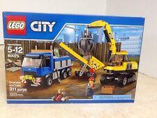 LEGO City  Excavator and Truck 60075 RETIRED