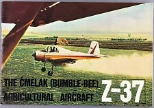LET Z-37 CMELAK AGRICULTURAL AIRCRAFT MANUFACTURERS SALES BROCHURE BUMBLE BEE