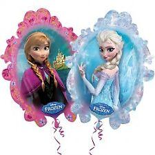 Disney Frozen Balloon Bouquet Anna Elsa Party Snow Queen Foil Balloons 5 Foils