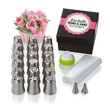 Cake & Cupcake Decorating Set for Icing Flower Decoration | 30 Pcs Frosting Kit