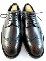 "NEW Allen Edmonds  ""MODIGLIANI"" Wingtip Oxfords 9 D Dark Brown (397)"