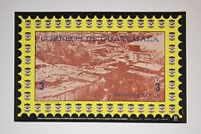1972 Original Cuban Poster.Cold War vintage.Guatemala Poverty.Political art.Mint