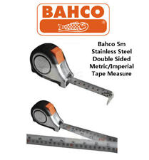 BAHCO 5m/16ft cm/inch Stainless Steel Blade With Magnet Tip Tape Measure,MTS525E