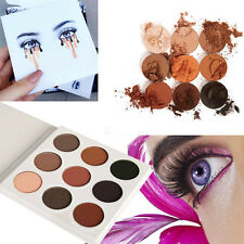 9 Couleurs Nude Eyeshadow Palette Smokey Eye Brown Chocolat Noir Make Up Tool AH