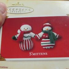 Hallmark Keepsake Ornament S'mittens set of two