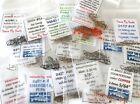 525) Micro Nymph Fly Tying Kit, Midge, Hooks & Beads (2457, 2488, 94840, 400BL)