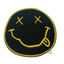 Nirvana Iron On Sew on Patch Embroidered Rock Band Heavy Music Logo Badge #219 B