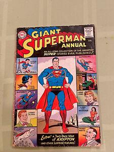 SUPERMAN ANNUAL #1 (Oct 1960 DC) 1st Silver Age DC Annual! Supergirl Origin!