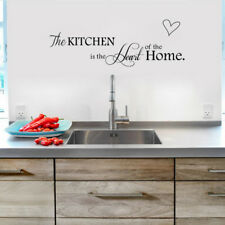 Removable Wall Sticker Content Kitchen Is The Heart of The Home House Decor DIY