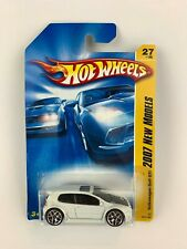 Hot Wheels 2007 New Models Volkswagen Golf GTI White New