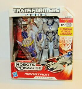 Transformers Prime MEGATRON - NEW MISB - Voyager class - Robots in Disguise
