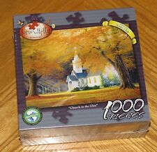 Church in the Glen Charles White Art - 2009 Serendipity 1000 Pc Puzzle - Sealed