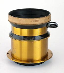 "15"" F4.5 Taylor Hobson TTH Cooke Series IIb Brass Portrait Lens Soft Focus 8x10"