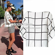 Geometric Regular Size Chiffon Blouses for Women