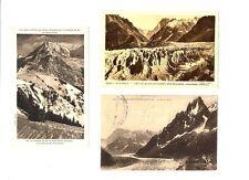 CPA 74 Haute-Savoie Chamonix Lot de 3 cartes