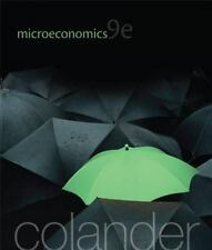 Microeconomics by David C. Colander 9th Edition (2012, Paperback)