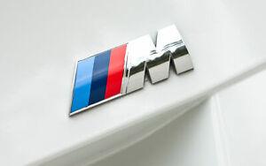 Genuine BMW M Sport Boot Badge Emblem Rear 1 3 5 6 Series M3 M4 Z3 / 51147250850