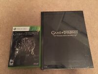 Game of Thrones Xbox 360 CIB Complete + Visuals of the RPG Book NEW