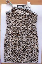 Just Cavalli beachwear womens one shoulder dress. Size XS  New.