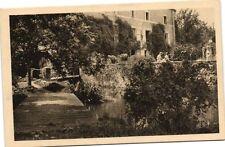 CPA Hótellerie du Moulin de la Planche-Pont et Terrasse sur la Juine (180453)