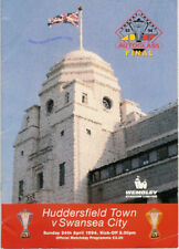More details for swansea city v huddersfield autoglass trophy final 1994 wembley football prog