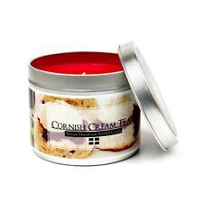Cornish Cream Tea Scented candle - Handmade Cornish gift - Strawberry candle