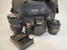 Nikon D D3200 24.2 MP Digital SLR Camera w/ 35mm and 11-16mm Lens