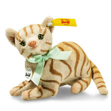 Steiff Mitzi ginger soft toy collectable cat - EAN 031809