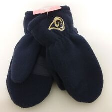 Los Angeles Rams NFL Toddler Navy Winter Fleece Mitten Gloves 12-18 Months