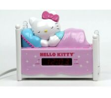 Hello Kitty Dual Alarm Clock Radio With Night Light & AM/FM Watch Video