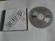 TANGERINE DREAM - Quinoa (CD 1992) FAN CLUB RELEASE