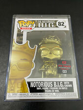 Pop Rocks! The Notorious B.I.G. With Crown (Gold) #82 Funko Pop! With Hard Case