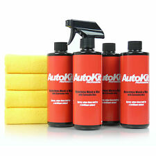 Waterless Car Wash Cleaner, Shine Grease & Grime, Lightning Fast Showroom Finish