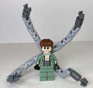 LEGO Marvel Dr. Octopus Otto Octavius Doc Ock Minifigure 4854 Spider-Man 2 2004