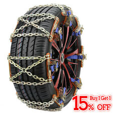 Wheel Tire Snow Anti-skid Chains for Car Truck SUV Emergency Winter Universal US