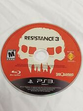 Resistance 3 (Sony PlayStation 3, 2011) PS3 Disk only