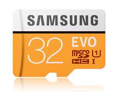 Samsung EVO 32GB 32G micro SD micro SDHC Flash Memory Card 95MB/s UHD 4K Class10