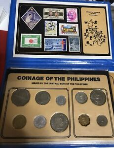 Philippines Coins and Stamps Set FS#25